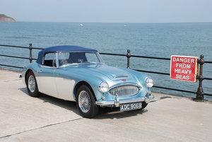 1964 Austin Healey 3000 MK 3 - Original Blue & White UK RHD Car SOLD