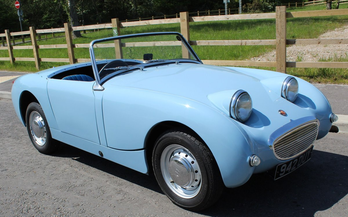 1960 1961 Austin Healey Frog Eye Sprite 56,000 miles SUPERB SOLD (picture 1 of 6)