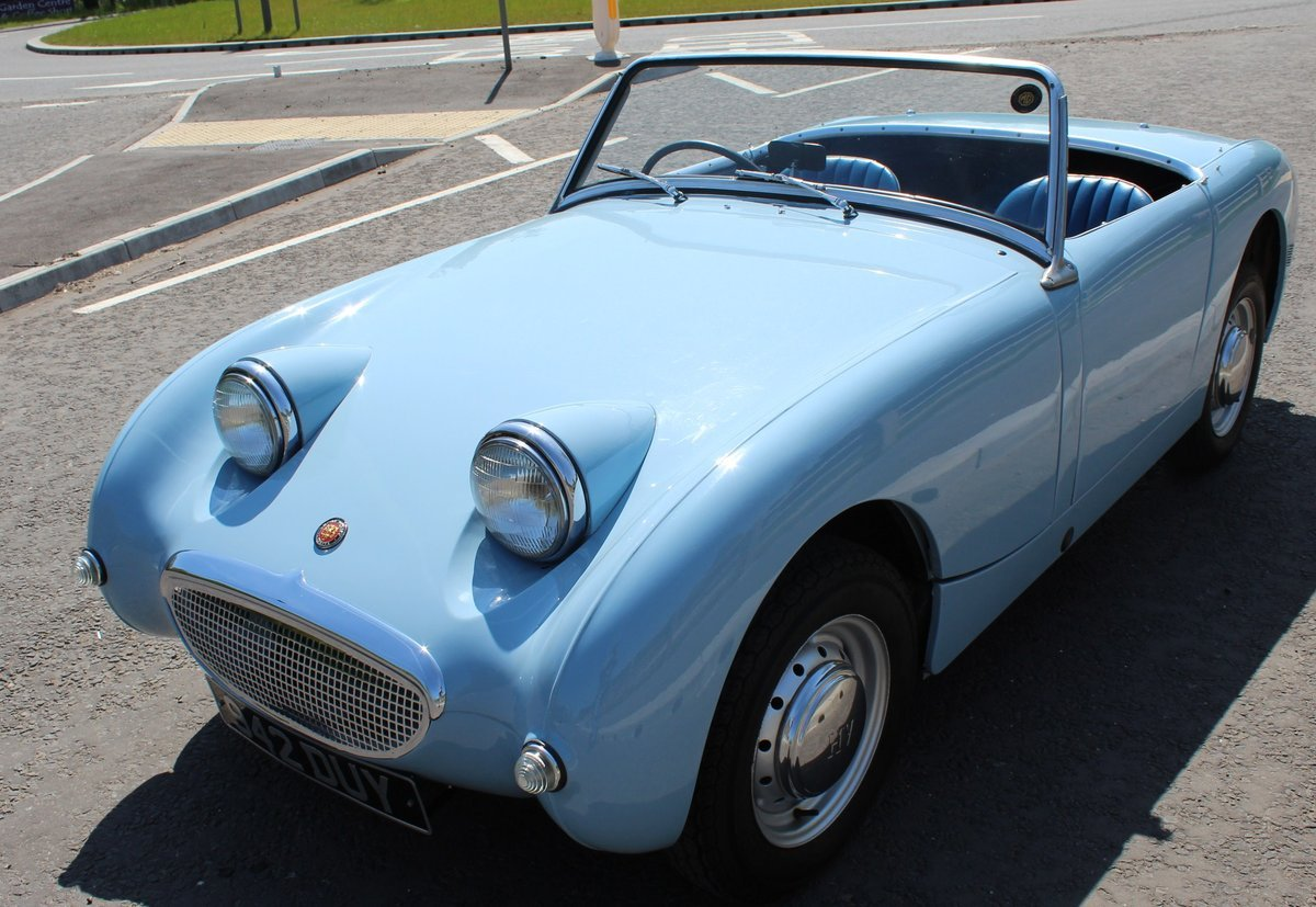 1960 1961 Austin Healey Frog Eye Sprite 56,000 miles SUPERB SOLD (picture 2 of 6)