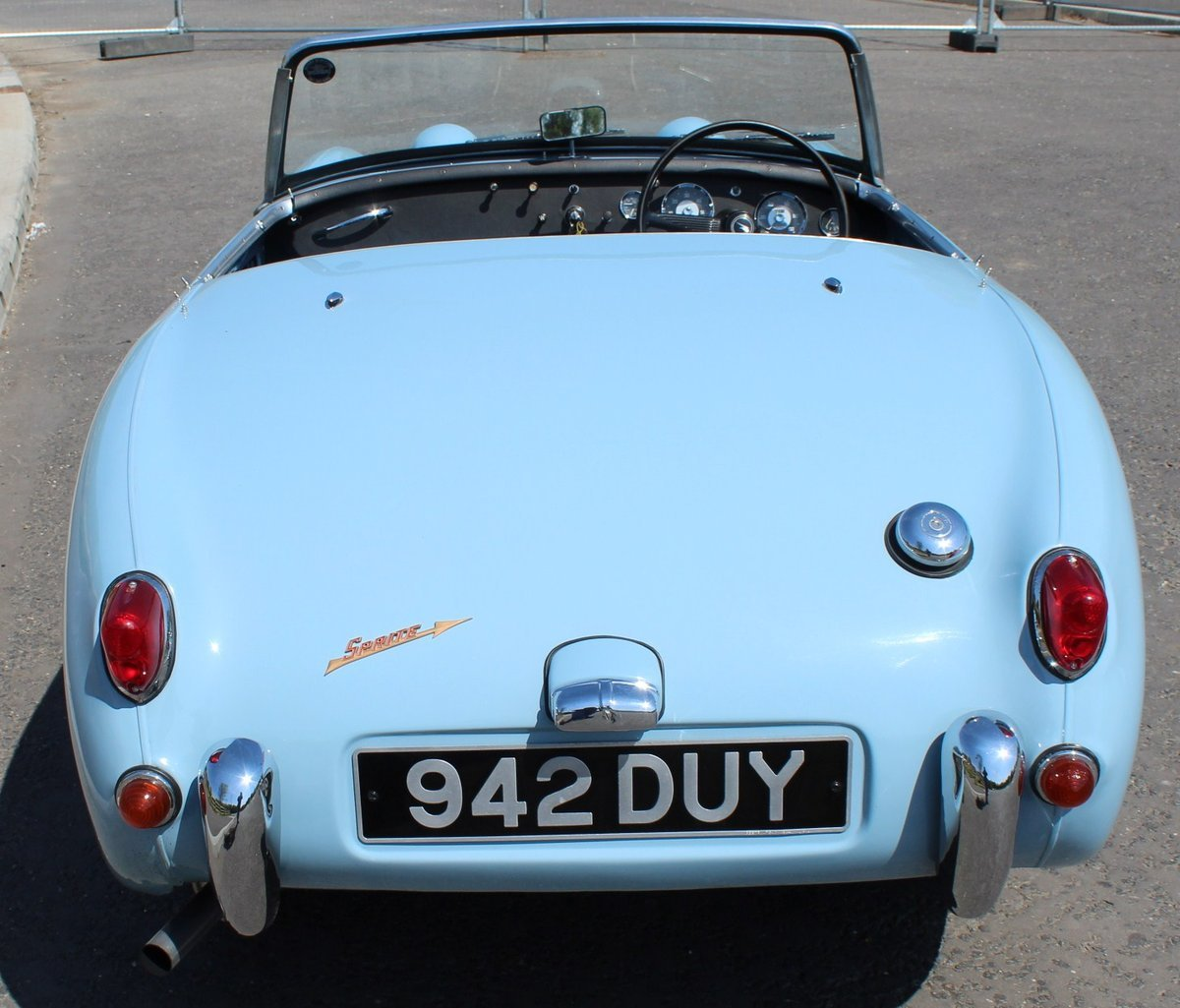 1960 1961 Austin Healey Frog Eye Sprite 56,000 miles SUPERB For Sale (picture 3 of 6)