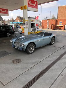 1960 Austin Healey 3000 BT7 MK1 All aliuminium body  For Sale