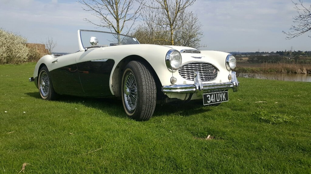 Austin Healey 3000 MK1 2+2 Left Hand Drive 1960  For Sale (picture 2 of 6)