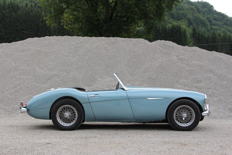 1960 solid mainly original Austin Healey LHD For Sale (picture 1 of 6)