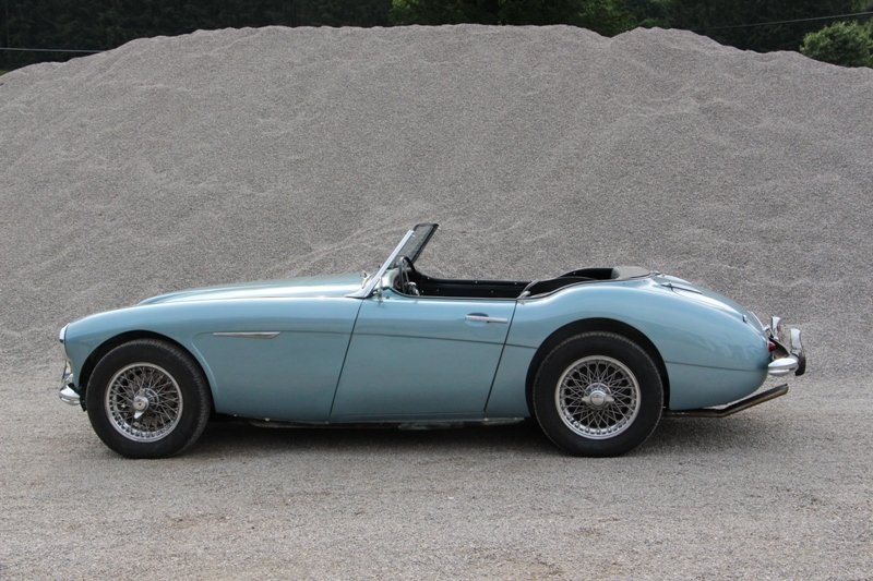 1960 solid mainly original Austin Healey LHD For Sale (picture 2 of 6)