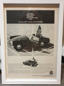 1967 Original US Sprite Advert