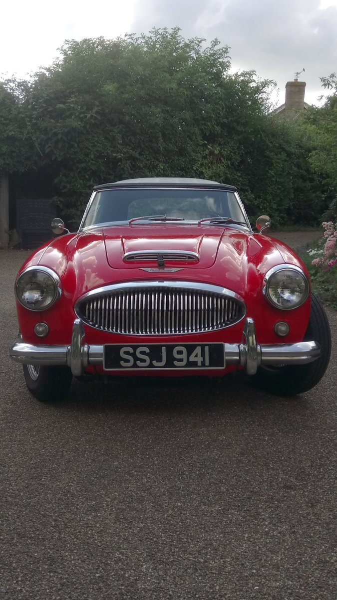 1963 Austin Healey 3000 For Sale (picture 1 of 6)