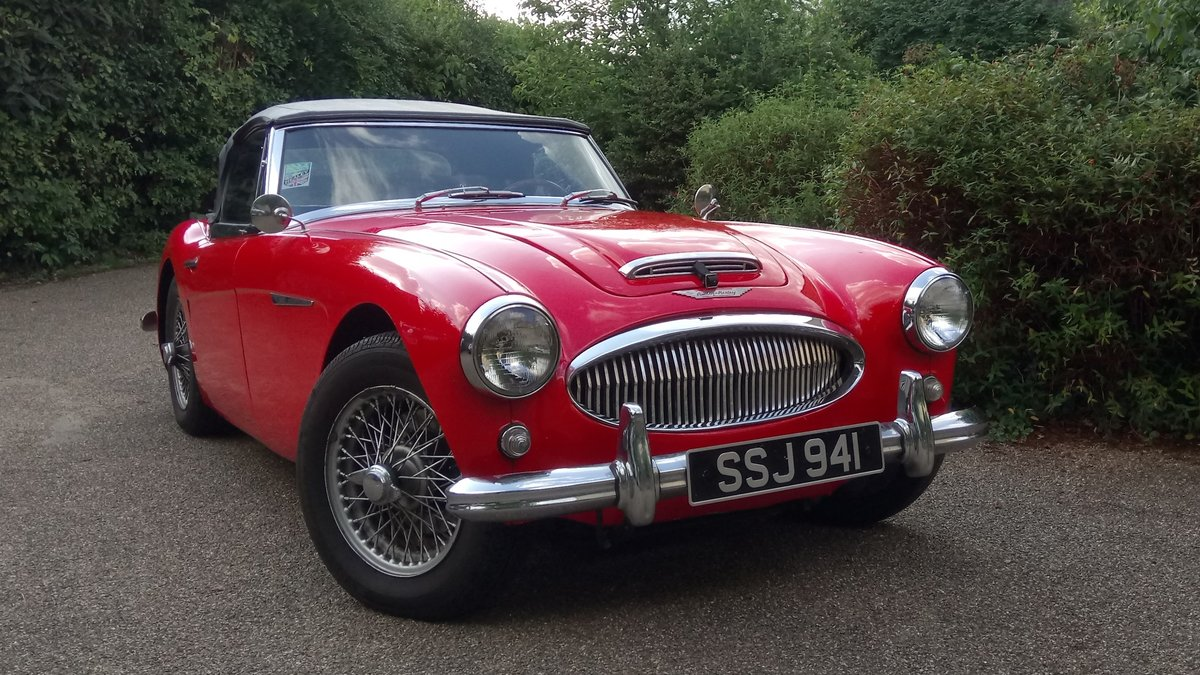 1963 Austin Healey 3000 For Sale (picture 3 of 6)