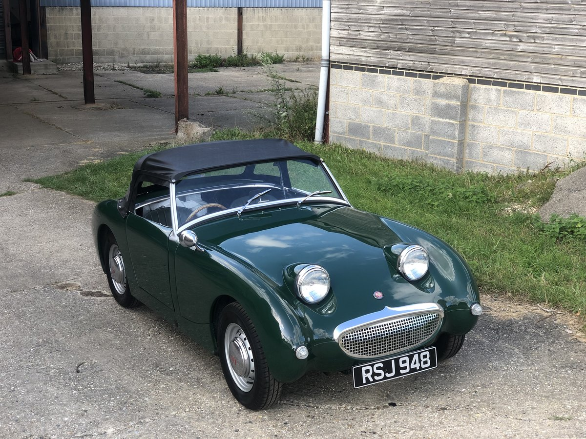 1959 Austin Healey Frogeye Sprite, 1275cc in BRG For Sale (picture 1 of 6)
