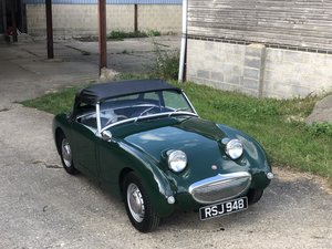 1959 Austin Healey Frogeye Sprite, 1275cc in BRG For Sale