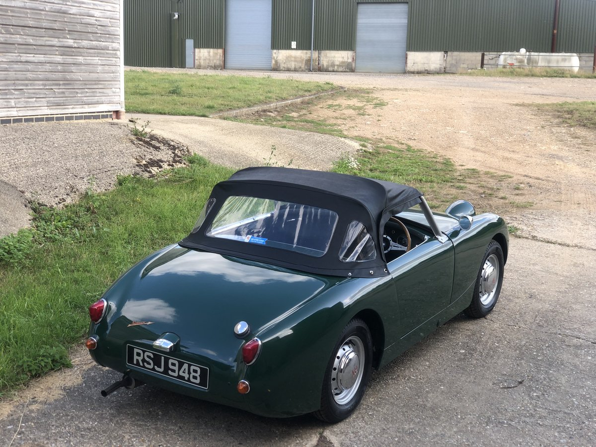 1959 Austin Healey Frogeye Sprite, 1275cc in BRG For Sale (picture 2 of 6)