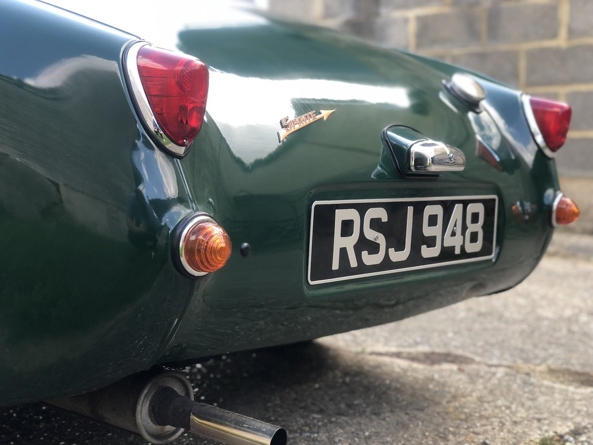 1959 Austin Healey Frogeye Sprite, 1275cc in BRG For Sale (picture 4 of 6)