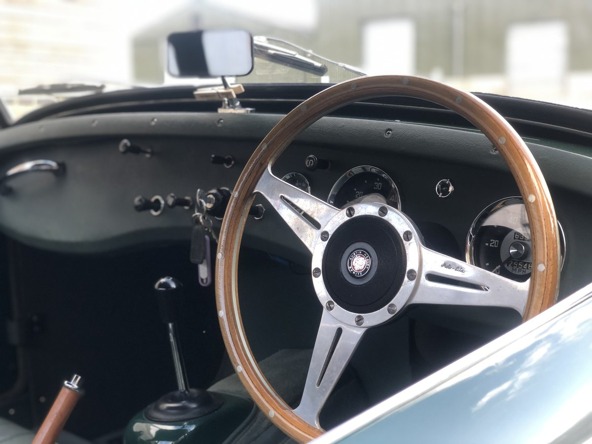 1959 Austin Healey Frogeye Sprite, 1275cc in BRG For Sale (picture 6 of 6)