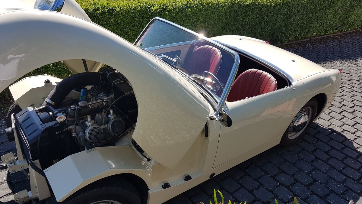 1960 Frogeye Sprite MK I restored to a high standard SOLD (picture 5 of 6)