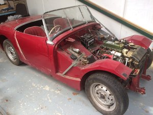 1959 Frogeye Sprite project