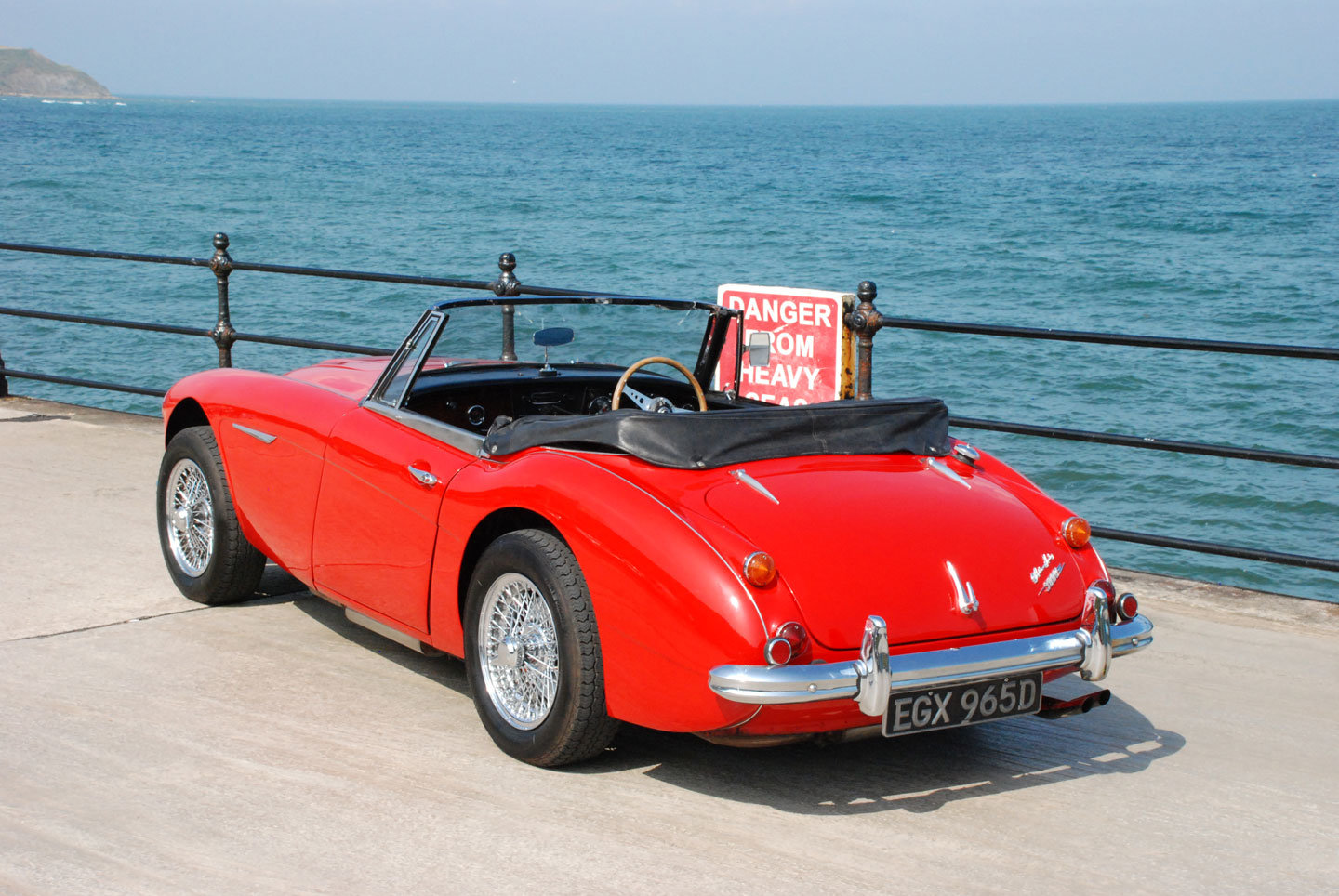 1966 Austin Healey 3000 Mk 3 - Original UK RHD Home Market Car For Sale (picture 4 of 6)