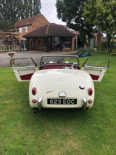 1961 Austin Healey Mk1 Sprite (Frogeye) For Sale (picture 3 of 6)