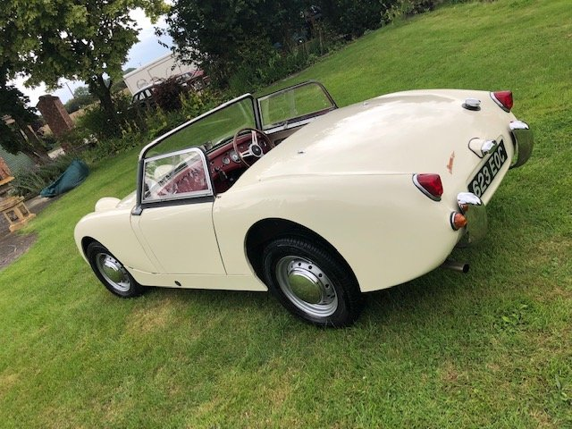 1961 Austin Healey Mk1 Sprite (Frogeye) For Sale (picture 6 of 6)