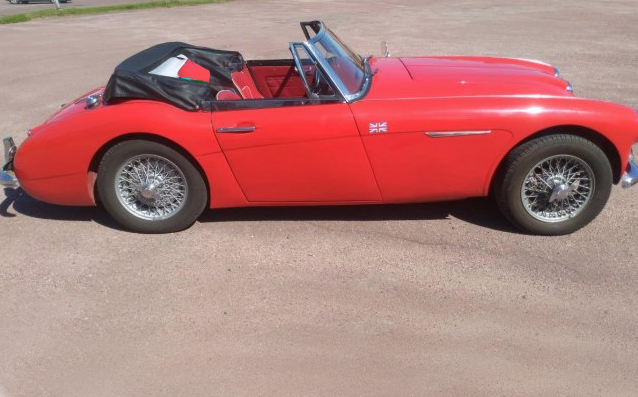 1962 Austin Healy 3000 SOLD (picture 2 of 6)
