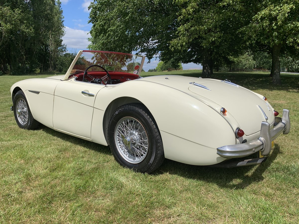 1958 Austin Healey 100-6 2 Seater SOLD (picture 2 of 6)