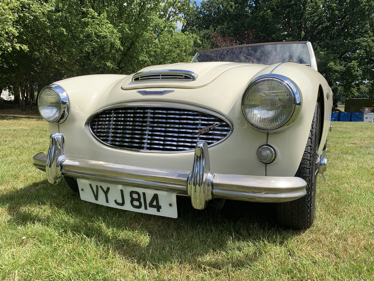 1958 Austin Healey 100-6 2 Seater SOLD (picture 3 of 6)