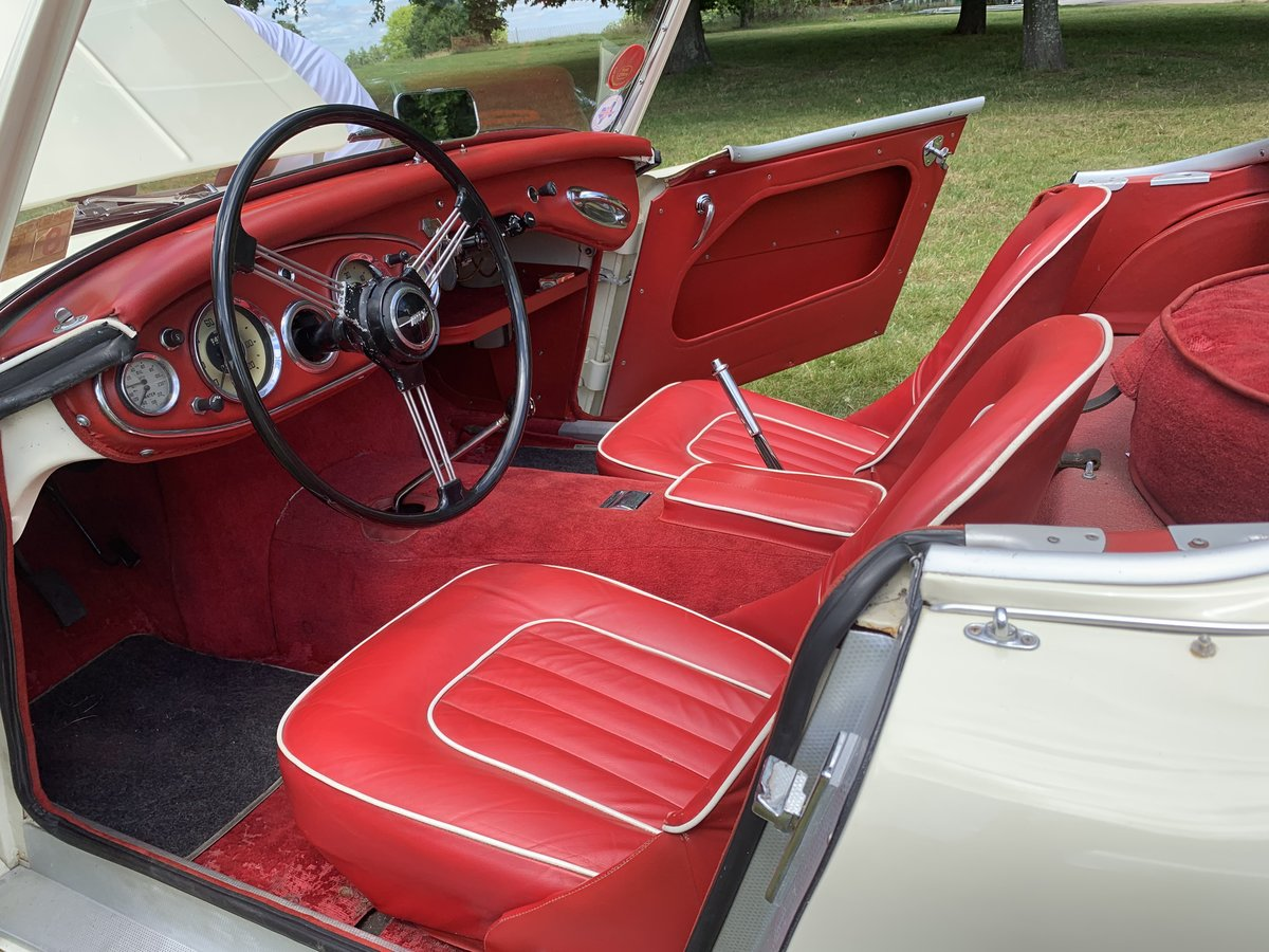 1958 Austin Healey 100-6 2 Seater SOLD (picture 4 of 6)
