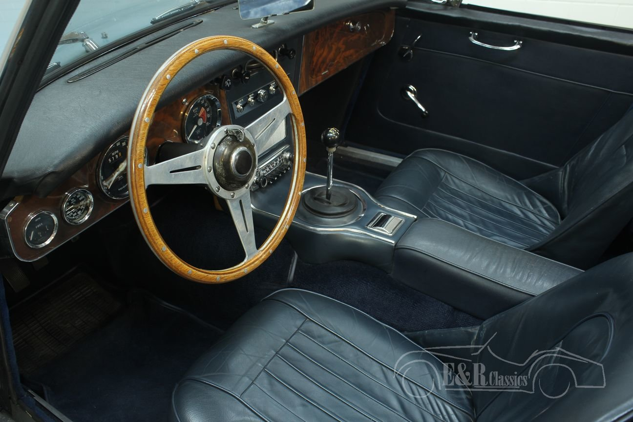 Austin Healey 3000 Cabriolet 1967 MK3 (BJ8) Ice Blue  For Sale (picture 3 of 6)