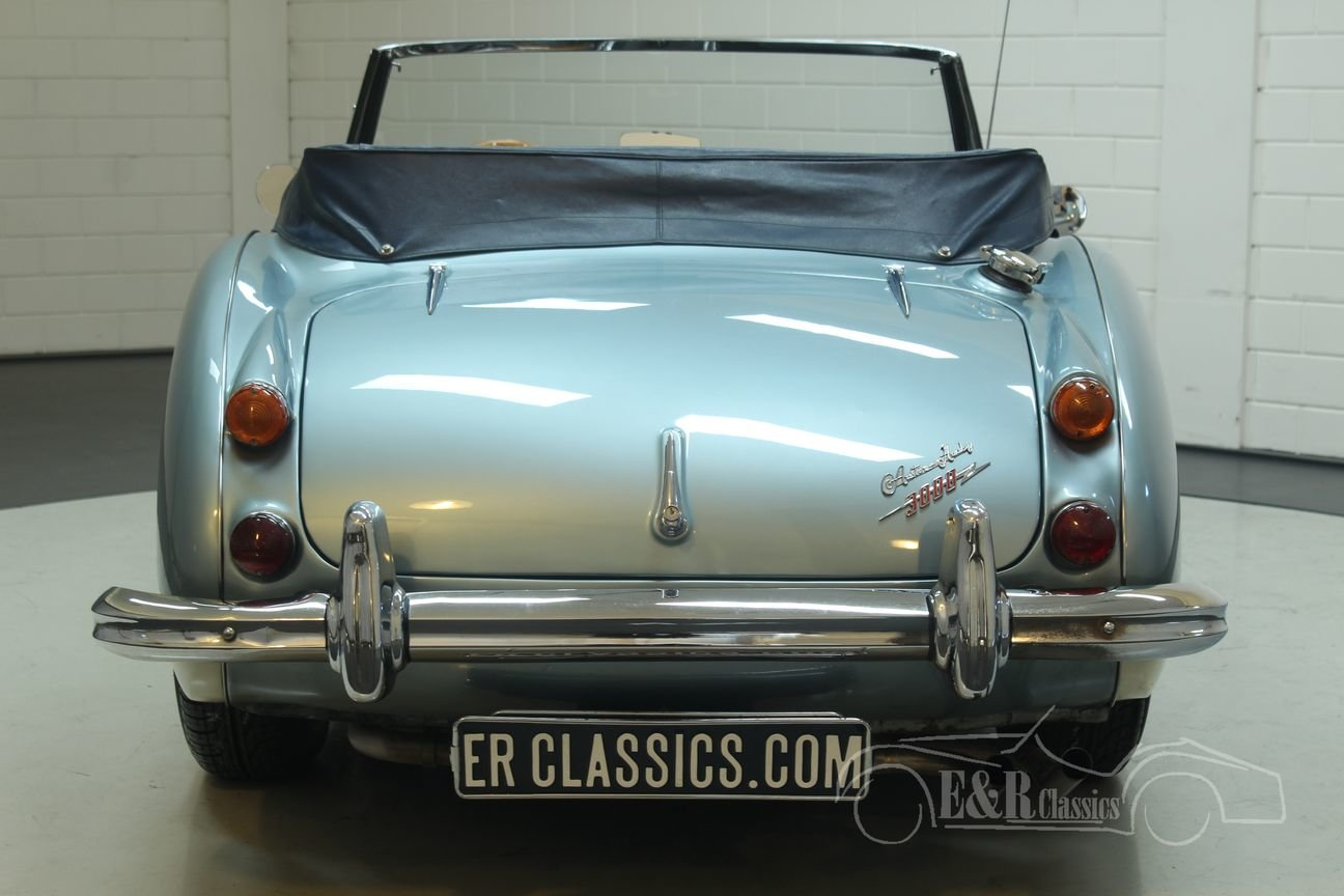 Austin Healey 3000 Cabriolet 1967 MK3 (BJ8) Ice Blue  For Sale (picture 5 of 6)