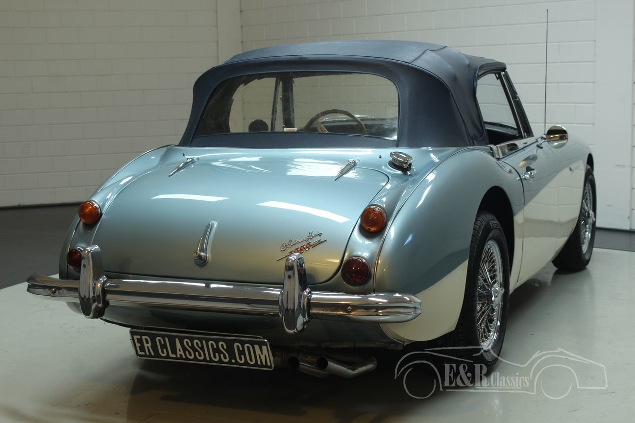 Austin Healey 3000 Cabriolet 1967 MK3 (BJ8) Ice Blue  For Sale (picture 6 of 6)