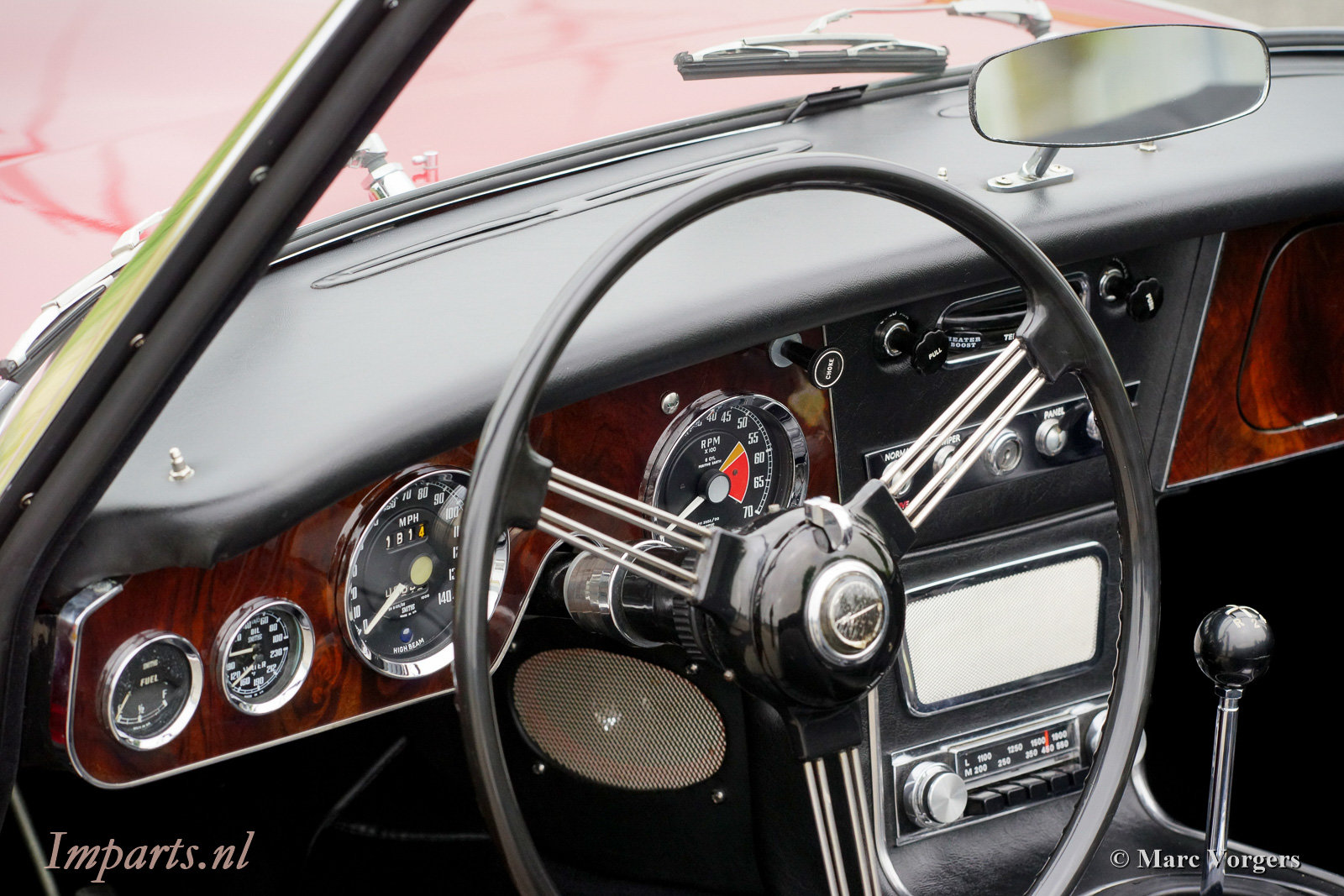 1966 Excellent Austin Healey 3000 Mk3 (BJ8) LHD For Sale (picture 2 of 6)