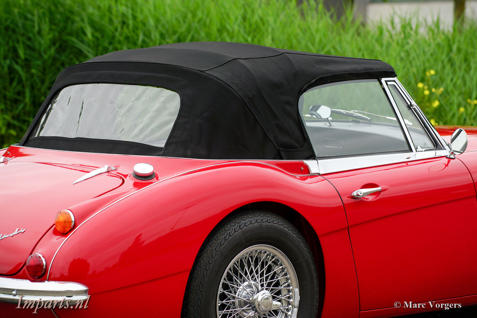 1966 Excellent Austin Healey 3000 Mk3 (BJ8) LHD For Sale (picture 5 of 6)