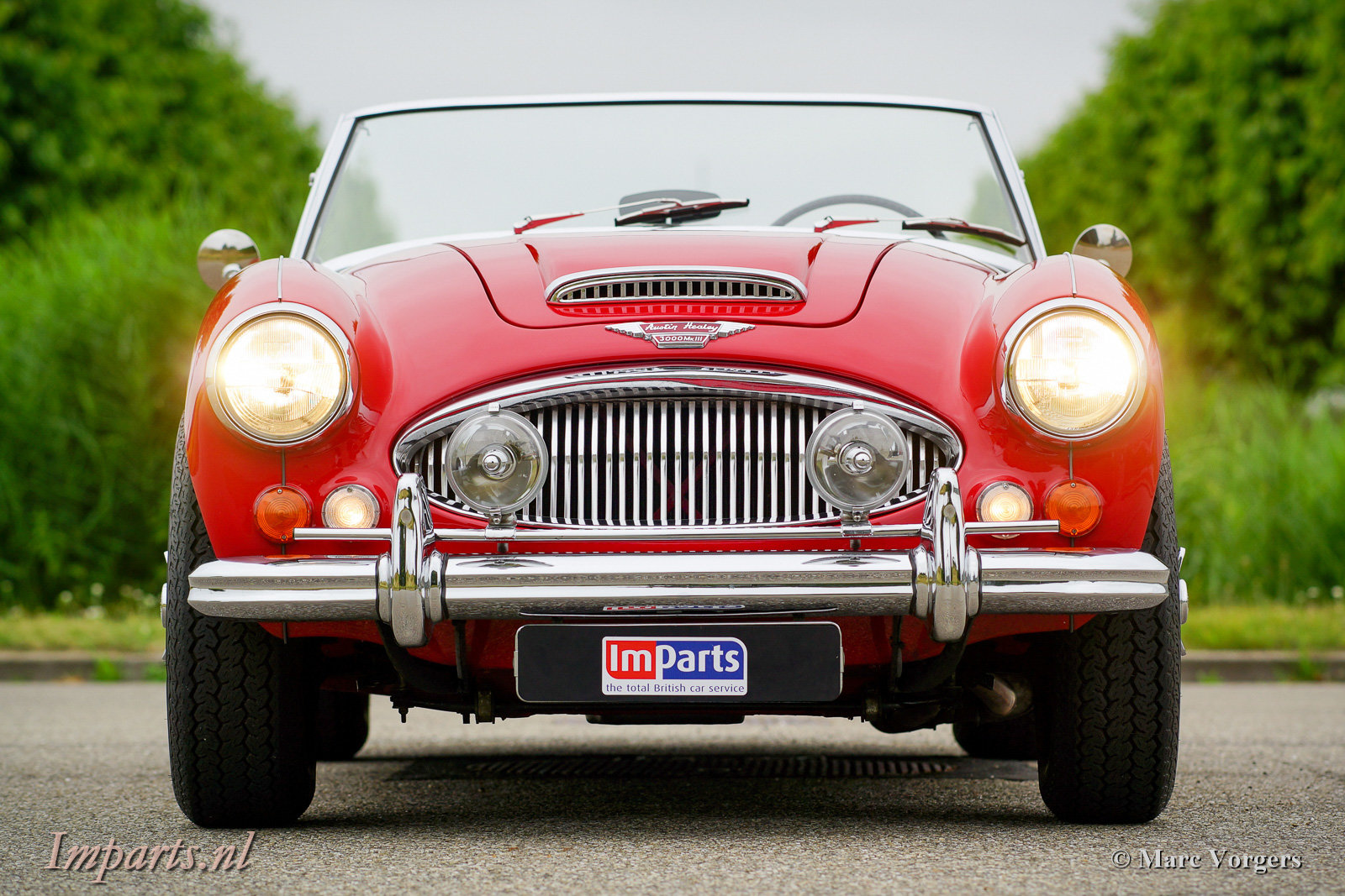 1966 Excellent Austin Healey 3000 Mk3 (BJ8) LHD For Sale (picture 6 of 6)
