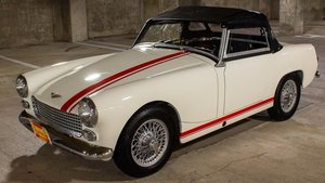 1961 Austin Healey Sprite Roadster Restored Ivory LHD $24.9k For Sale