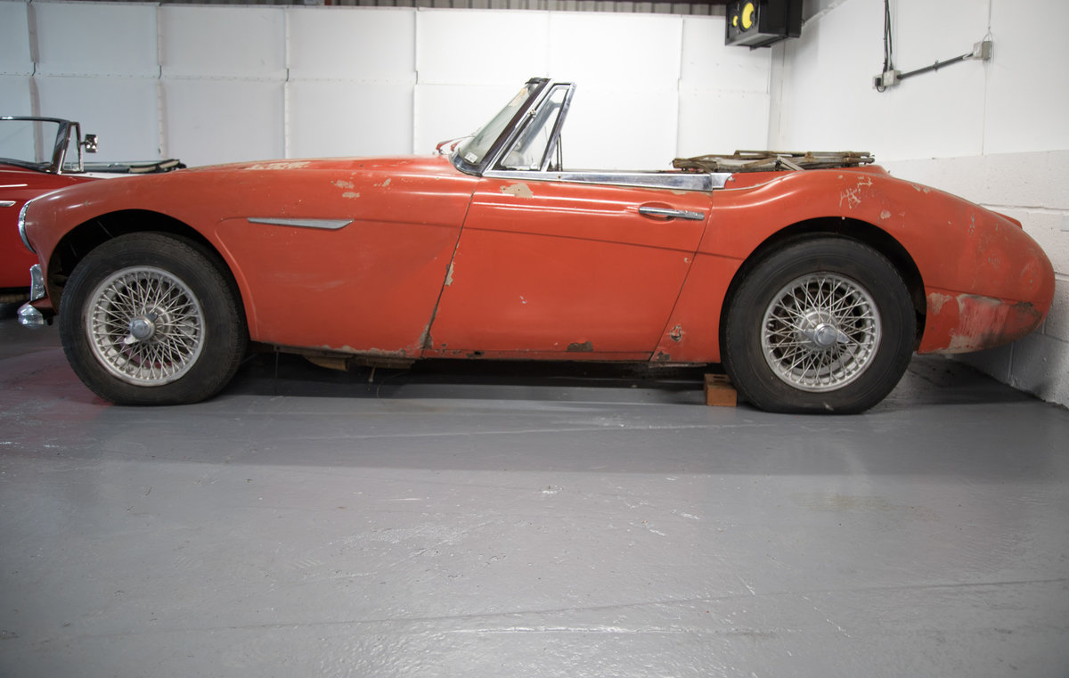 1963 Austin Healey 3000 MkIIA (BJ7) Project SOLD (picture 2 of 6)