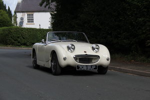 1959 Austin Healey Frogeye Sprite MKI - UK car, Interior Re-trim