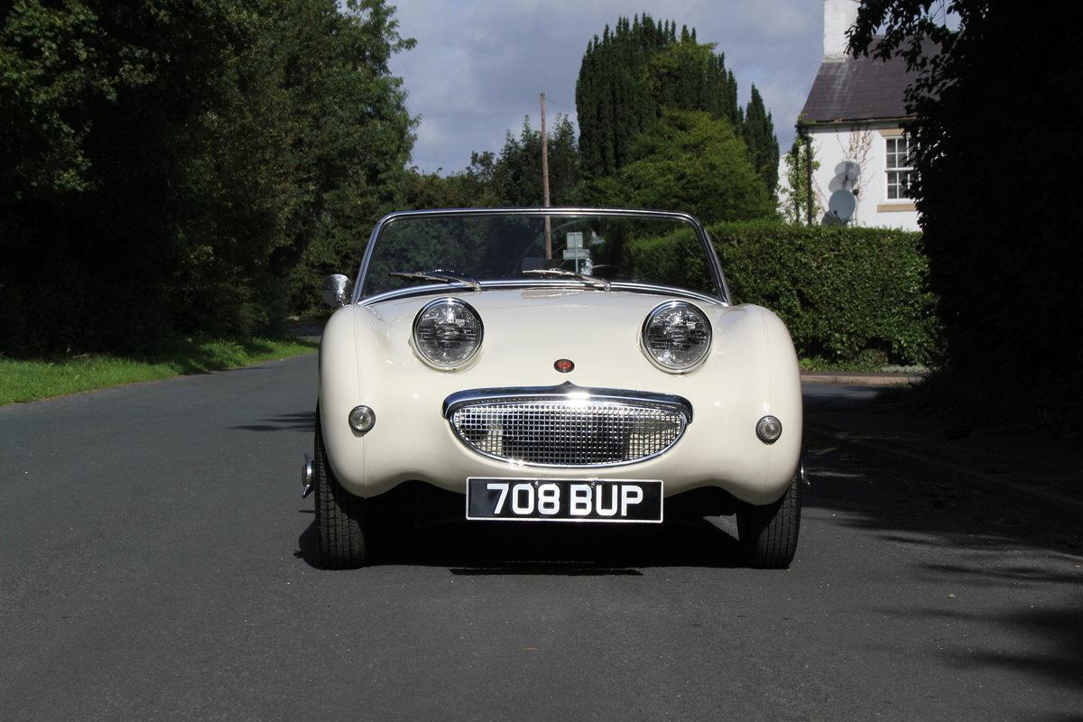 1959 Austin Healey Frogeye Sprite MKI - UK car, Interior Re-trim SOLD (picture 2 of 19)