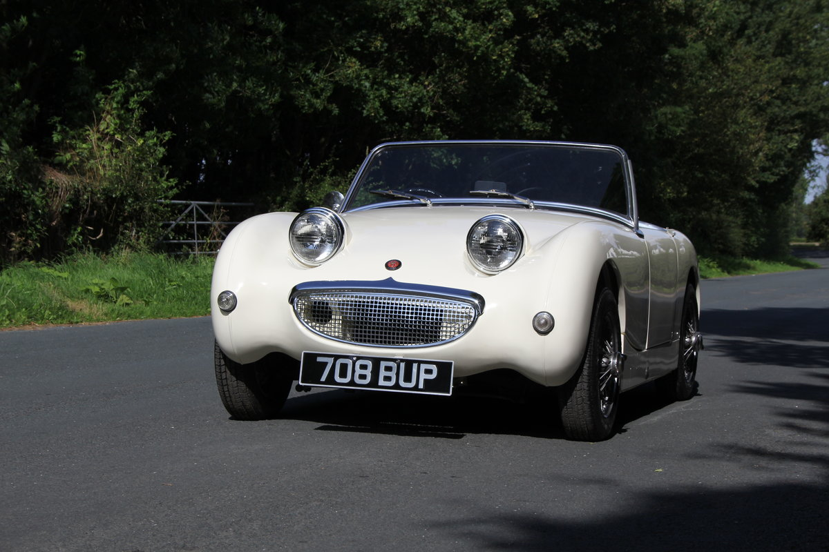 1959 Austin Healey Frogeye Sprite MKI - UK car, Interior Re-trim SOLD (picture 3 of 19)