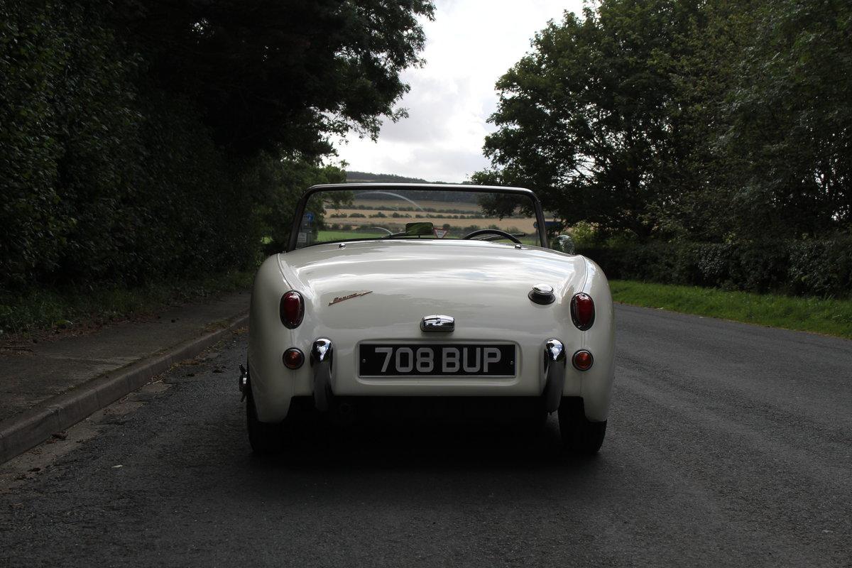 1959 Austin Healey Frogeye Sprite MKI - UK car, Interior Re-trim SOLD (picture 5 of 19)