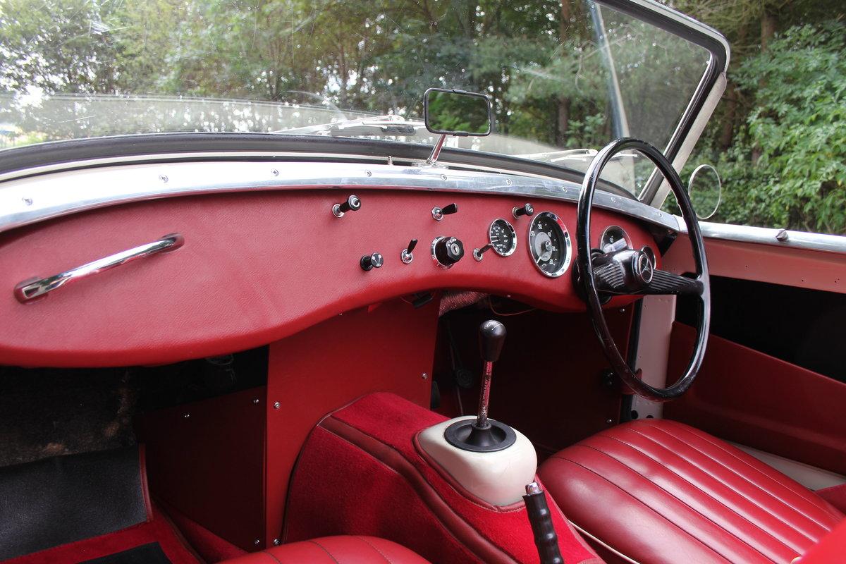 1959 Austin Healey Frogeye Sprite MKI - UK car, Interior Re-trim SOLD (picture 11 of 19)