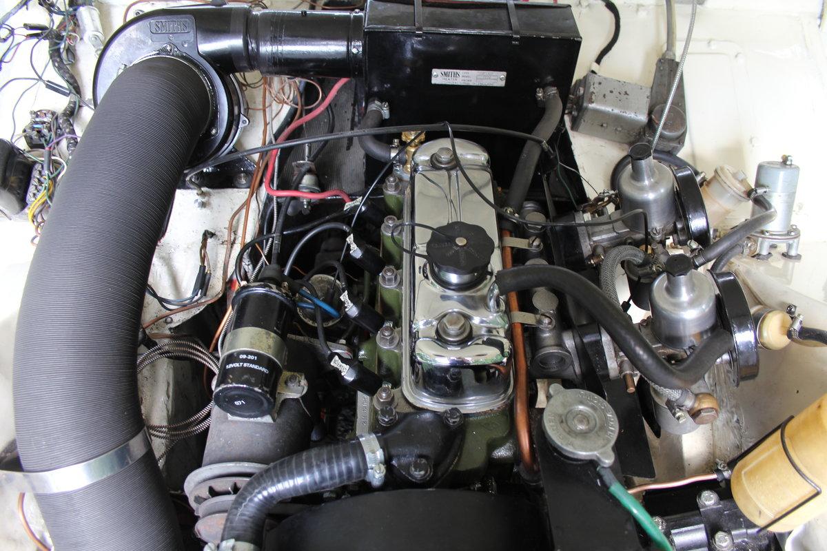 1959 Austin Healey Frogeye Sprite MKI - UK car, Interior Re-trim SOLD (picture 15 of 19)
