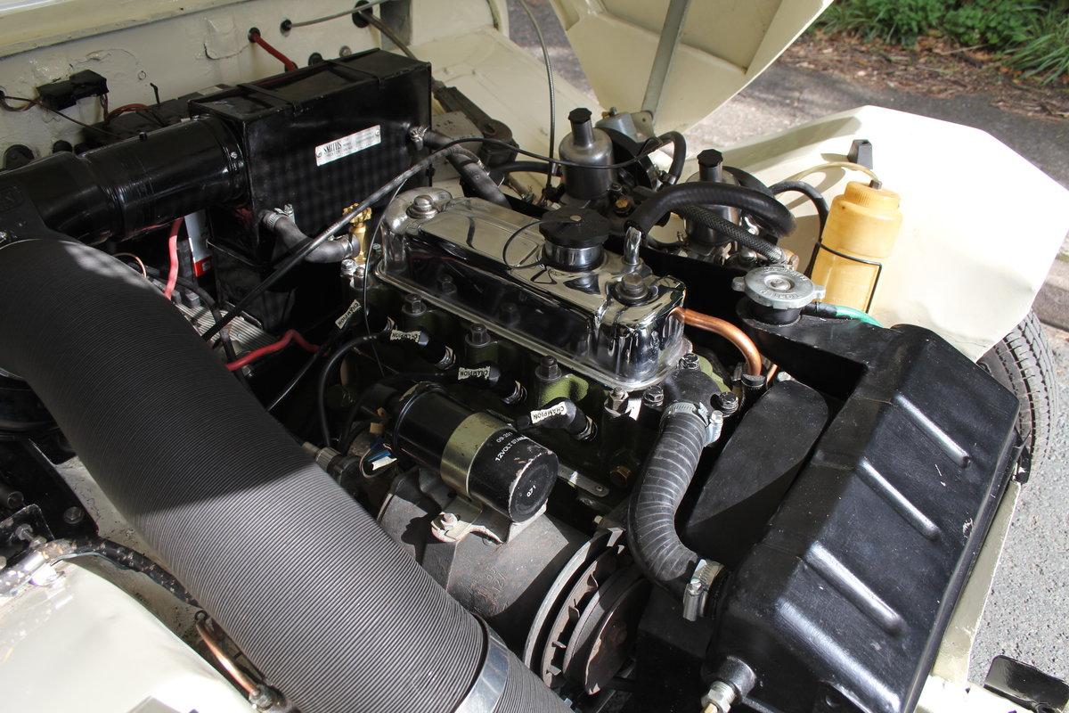 1959 Austin Healey Frogeye Sprite MKI - UK car, Interior Re-trim SOLD (picture 18 of 19)