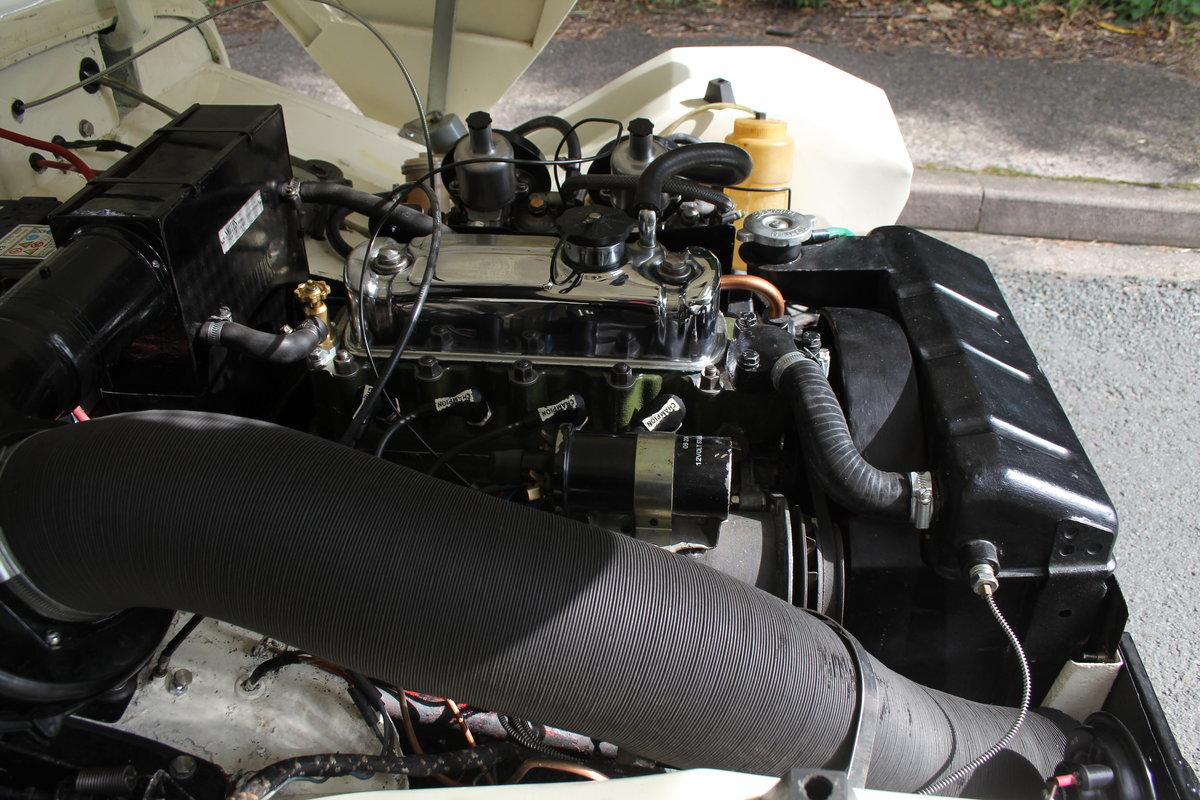 1959 Austin Healey Frogeye Sprite MKI - UK car, Interior Re-trim SOLD (picture 19 of 19)