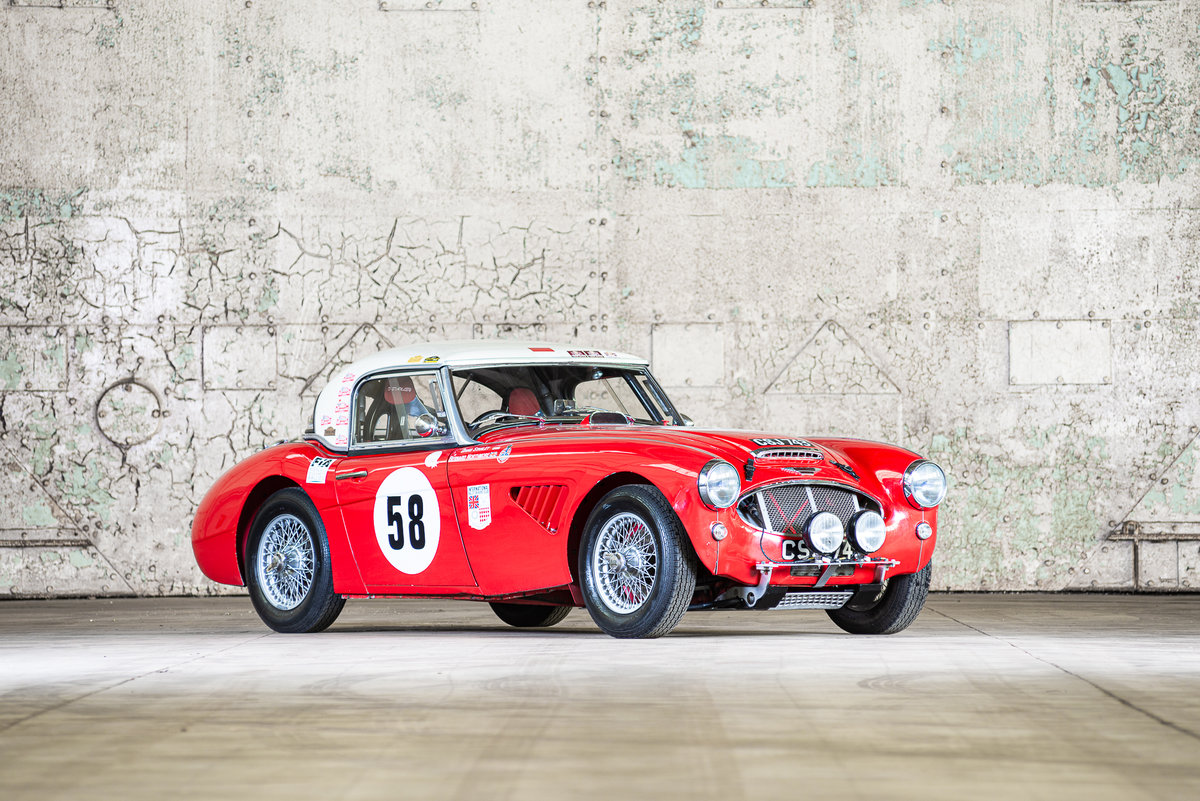 1962 Austin Healey 3000 MkII FIA Competition Car For Sale (picture 1 of 6)