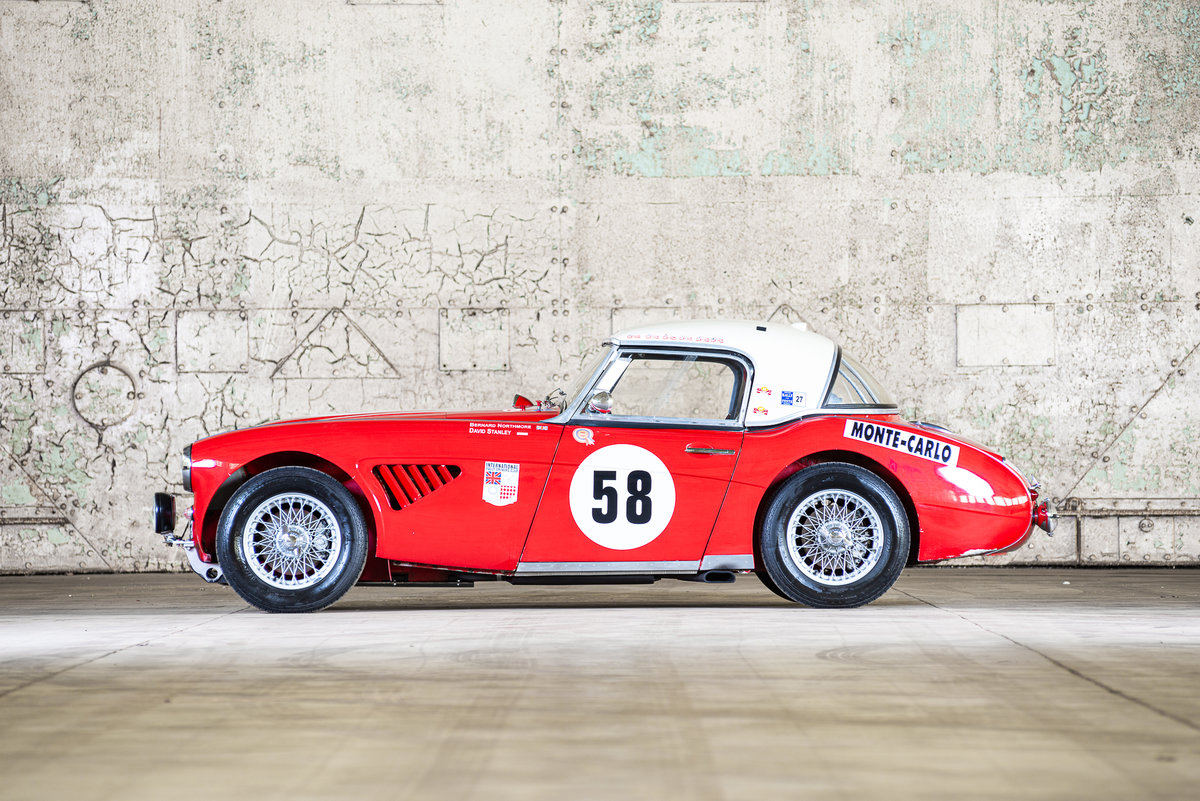 1962 Austin Healey 3000 MkII FIA Competition Car For Sale (picture 2 of 6)