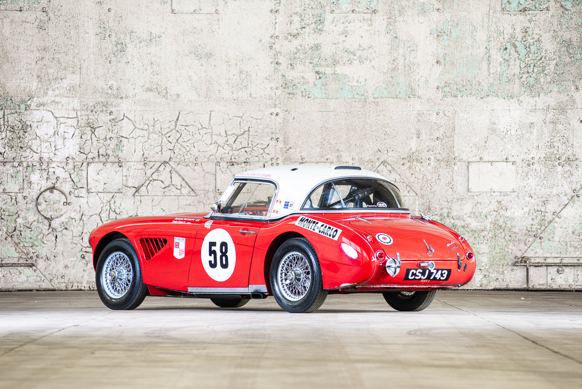 1962 Austin Healey 3000 MkII FIA Competition Car For Sale (picture 3 of 6)