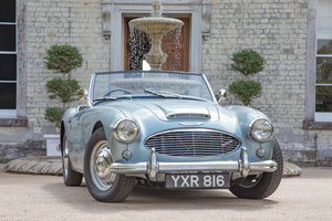 1960 Austin Healey 3000 MkI | Original RHD & Original Healey Blue SOLD