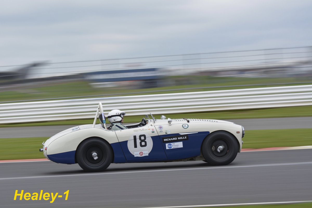 1955 Austin Healey 100m FIA road/ race car For Sale (picture 1 of 6)