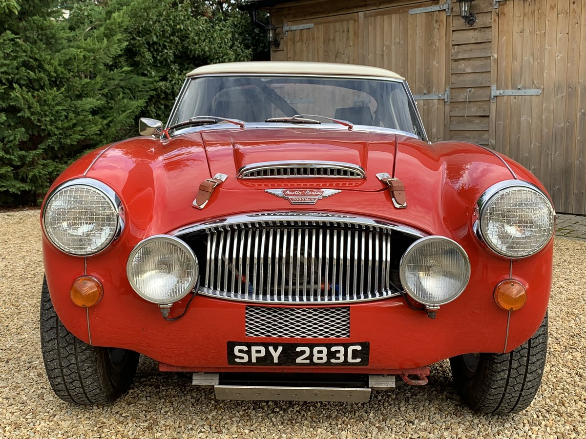 1965 AUSTIN HEALEY ALLOY BODIED WORK SPEC RALLY CAR For Sale (picture 1 of 6)