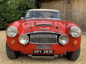 1965 AUSTIN HEALEY ALLOY BODIED WORK SPEC RALLY CAR For Sale