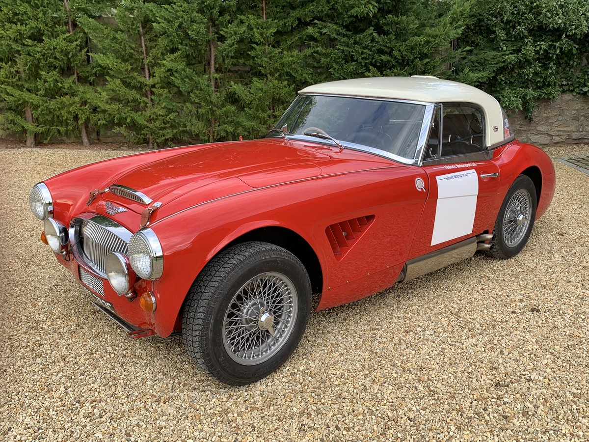 1965 AUSTIN HEALEY ALLOY BODIED WORK SPEC RALLY CAR For Sale (picture 2 of 6)