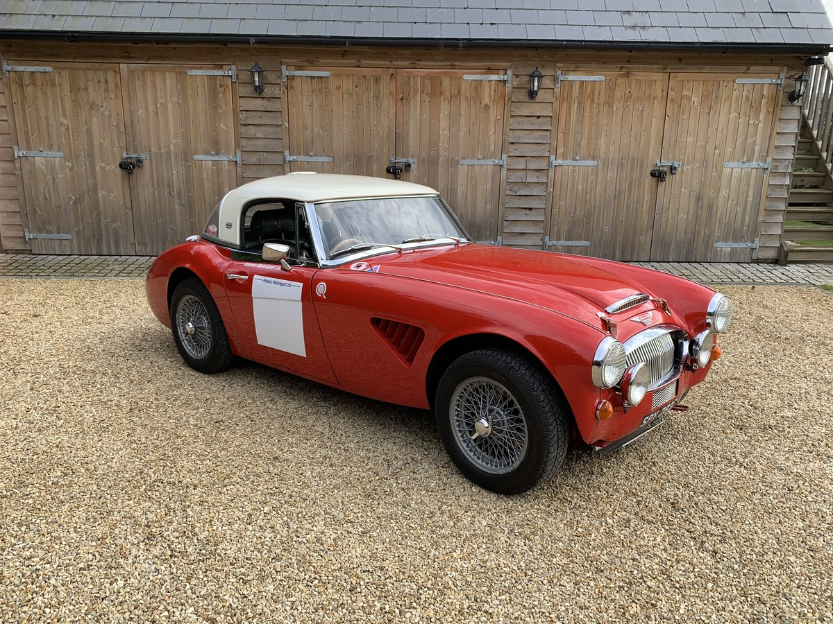 1965 AUSTIN HEALEY ALLOY BODIED WORK SPEC RALLY CAR For Sale (picture 3 of 6)